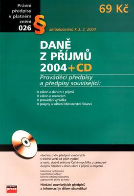 Obrázok Daně z příjmů 2004 + CD