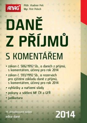 Obrázok Daně z příjmů s komentářem 2014