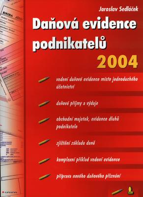 Obrázok Daňová evidence podnikat. 2004