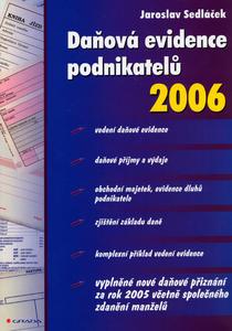 Obrázok Daňová evidence podnikatelů 2006