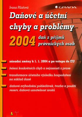 Obrázok Daňové a účetní chyby a problémy 2004