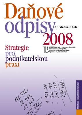 Daňové odpisy 2008