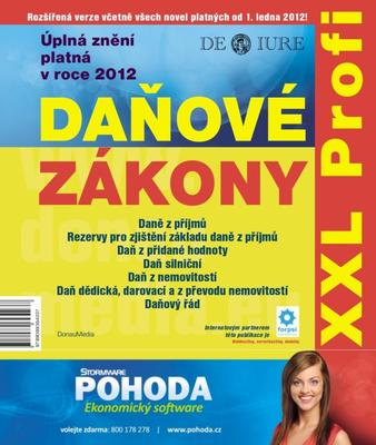 Obrázok Daňové zákony 2012 XXL Profi