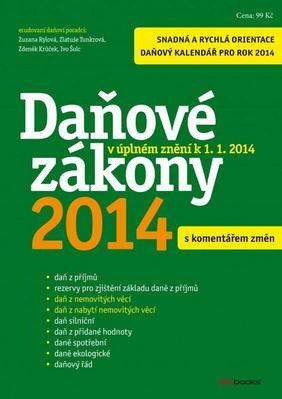 Obrázok Daňové zákony 2014