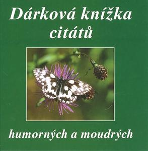 Obrázok Dárková knížka citátů humorných a moudrých