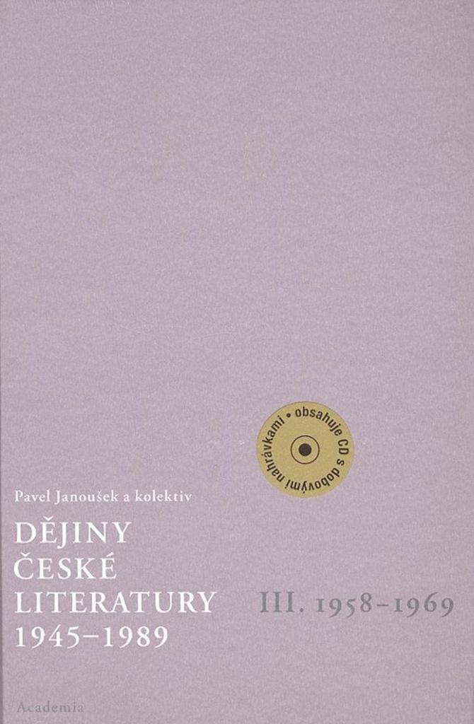 Dějiny české literatury 1945 - 1989 - Pavel Janoušek