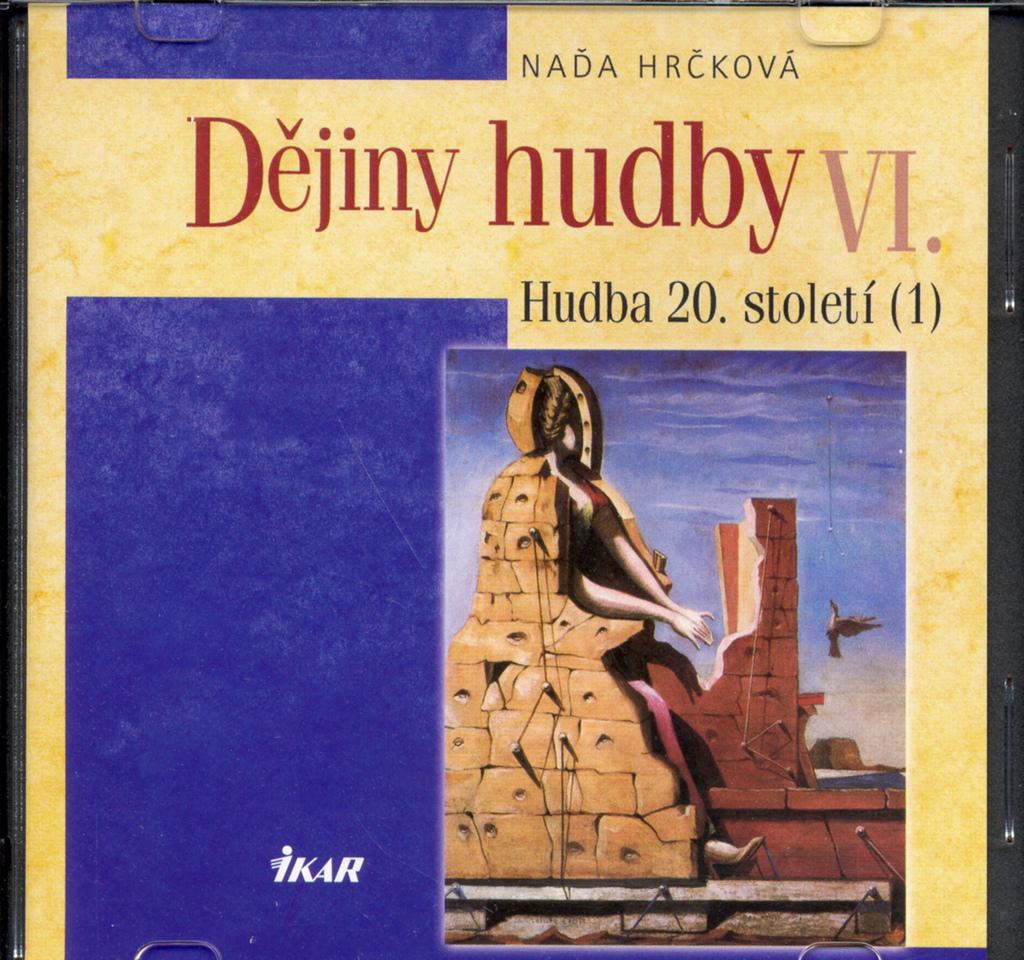 Dějiny hudby VI. Hudba 20. století (1) + CD - Naďa Hrčková