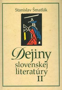 Obrázok Dejiny slovenskej literatúry II