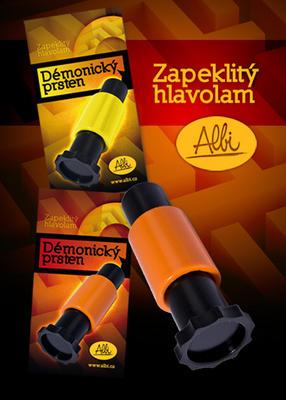 Obrázok Démonický prsten oranžový