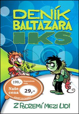 Obrázok Deník Baltazara Iks