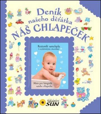 Deník našeho děťátka Naš chlapeček