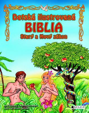 Obrázok Detská ilustrovaná biblia Starý a Nový zákon