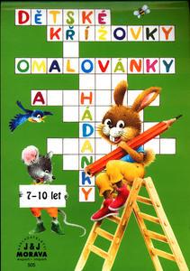 Obrázok Dětské křížovky, omalovánky a  hádanky