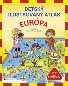 Obrázok Detský ilustrovaný atlas Európa
