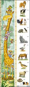 Obrázok Dětský metr (žirafa + zvířat)