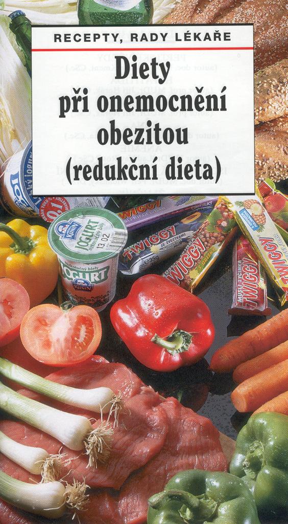 Diety při onemocnění obezitou (redukční dieta) - Pavla Myslíková