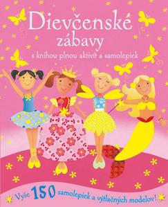 Obrázok Dievčenské zábavy s knihou plnou aktivít a samolepiek