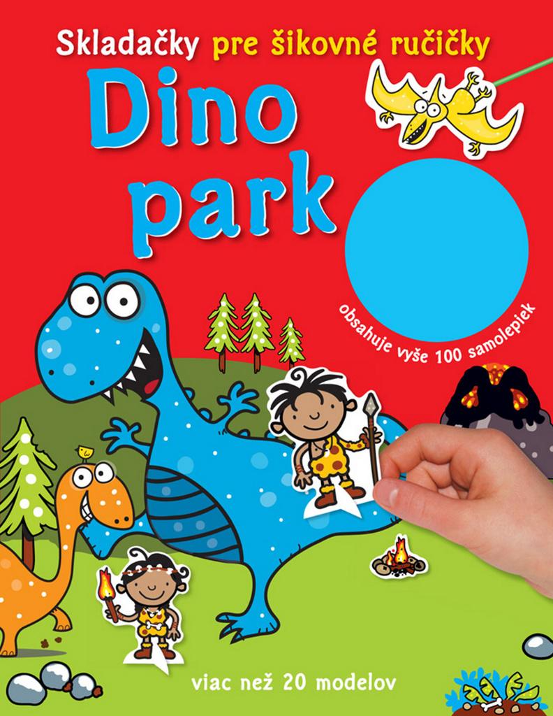 Dino park Skladačky pre šikovné ručičky