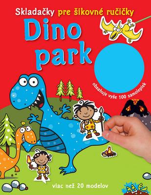 Obrázok Dino park Skladačky pre šikovné ručičky