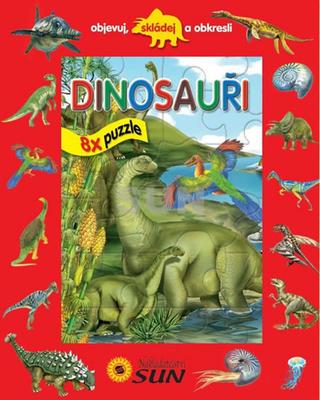 Obrázok Dinosauři 8x puzzle