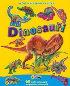 Obrázok Dinosauři (Akční samolepková knížka)