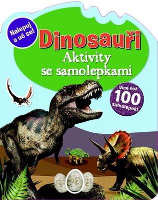 Obrázok Dinosauři Aktivity se samolepkami