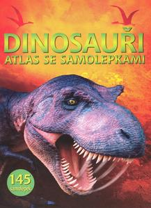 Obrázok Dinosauři atlas se samolepkami