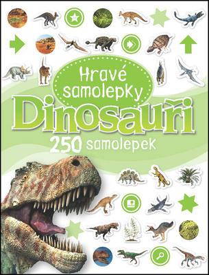 Obrázok Dinosauři Hravé samolepky