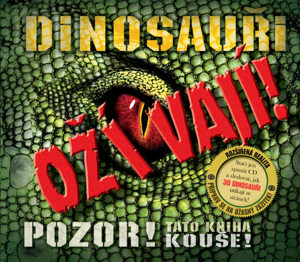 Dinosauři ožívají! 3D (obsahuje CD ROM) - Robert Mash