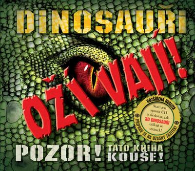 Obrázok Dinosauři ožívají! 3D (obsahuje CD ROM)
