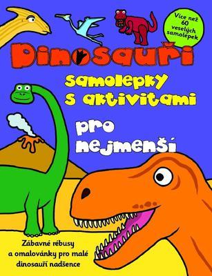Obrázok Dinosauři samolepky s aktivitami pro nejmenší