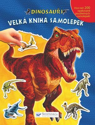 Obrázok Dinosauři Velká kniha samolepek