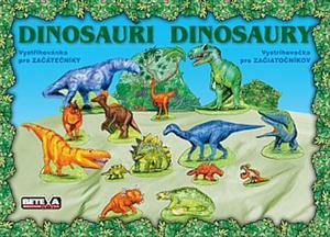 Obrázok Dinosauři Vystřihovánka pro začátečníky
