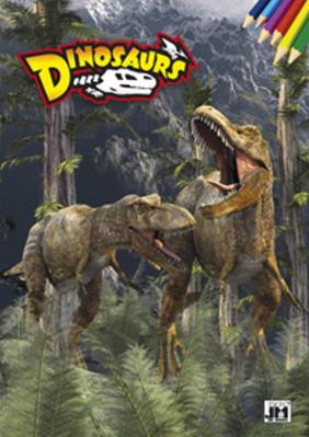 Obrázok Dinosaurus - omalovánka