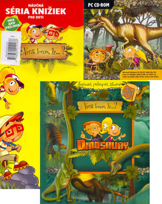 Obrázok Dinosaury + CD ROM