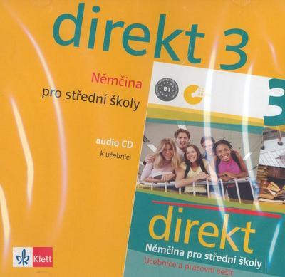 Obrázok Direkt 3 Němčina pro střední školy (audio CD)