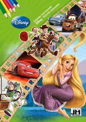 Obrázok Disney filmy omalovánka