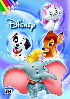 Disney filmy - omalovánka