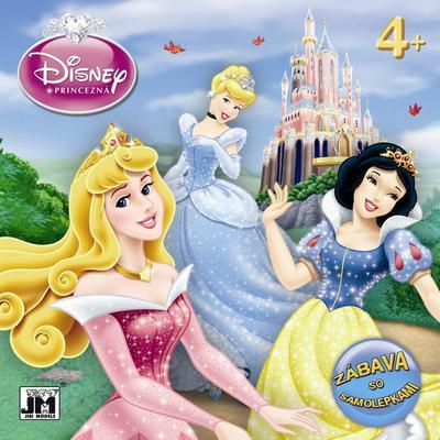 Obrázok Disney Princezná Zábava so samolepkami