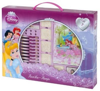 Obrázok Disney Princezny - razítka v kufříku