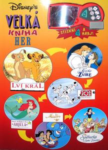 Obrázok Disneys Velká kniha her
