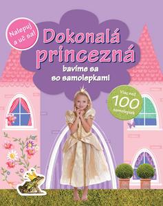 Obrázok Dokonalá princezná bavíme sa so samolepkami