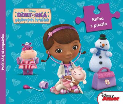 Obrázok Doktorka plyšových hračiek Kniha s puzzle
