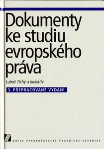 Obrázok Dokumenty ke studiu evropského práva