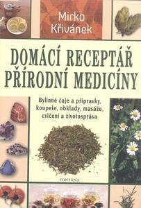 Obrázok Domácí receptář přírodní medicíny