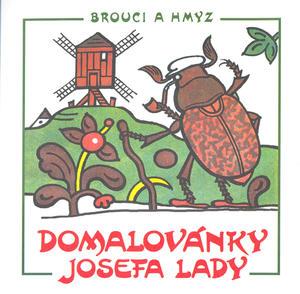 Obrázok Domalovánky Josefa Lady Brouci a hmyz