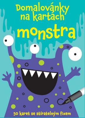 Obrázok Domalovánky na kartách Monstra