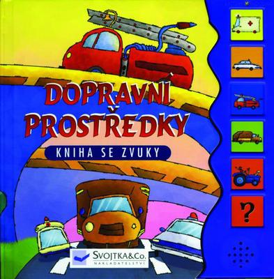 Obrázok Dopravní prostředky Kniha se zvuky