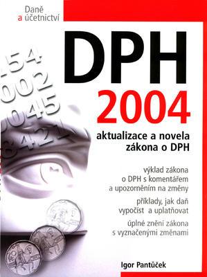 Obrázok DPH 2004 aktualizace a novela zákona o DPH
