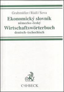 Obrázok Ekonomický slovník německo-český Wirtschaftswörterbuch deutsch-tsechitsch